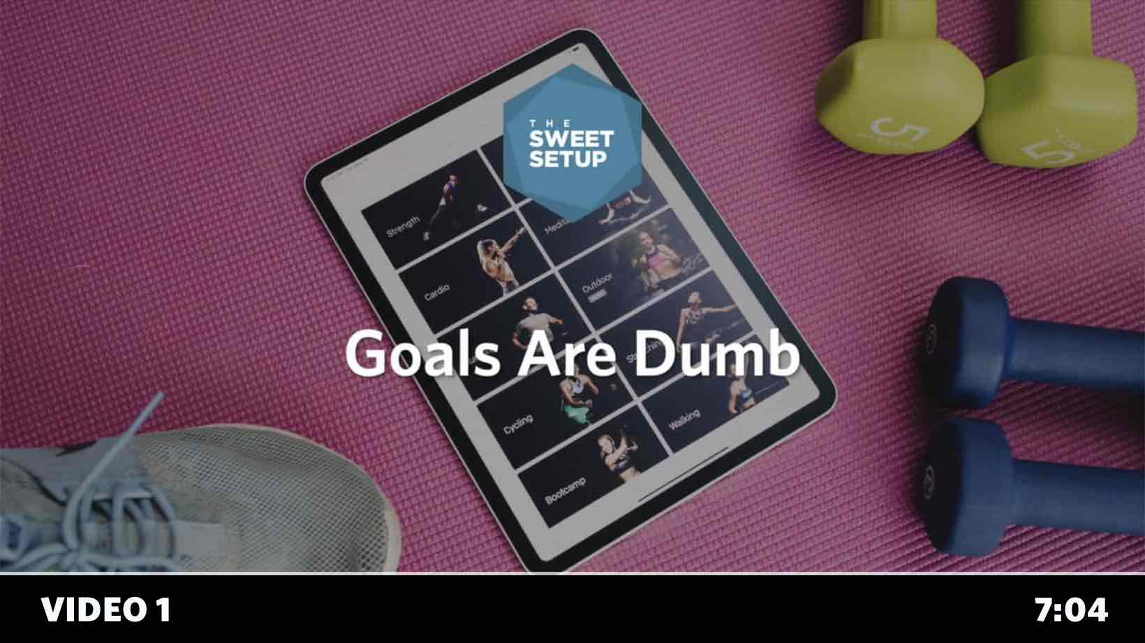 Simple Habits Course - video 1 - Goals are Dumb