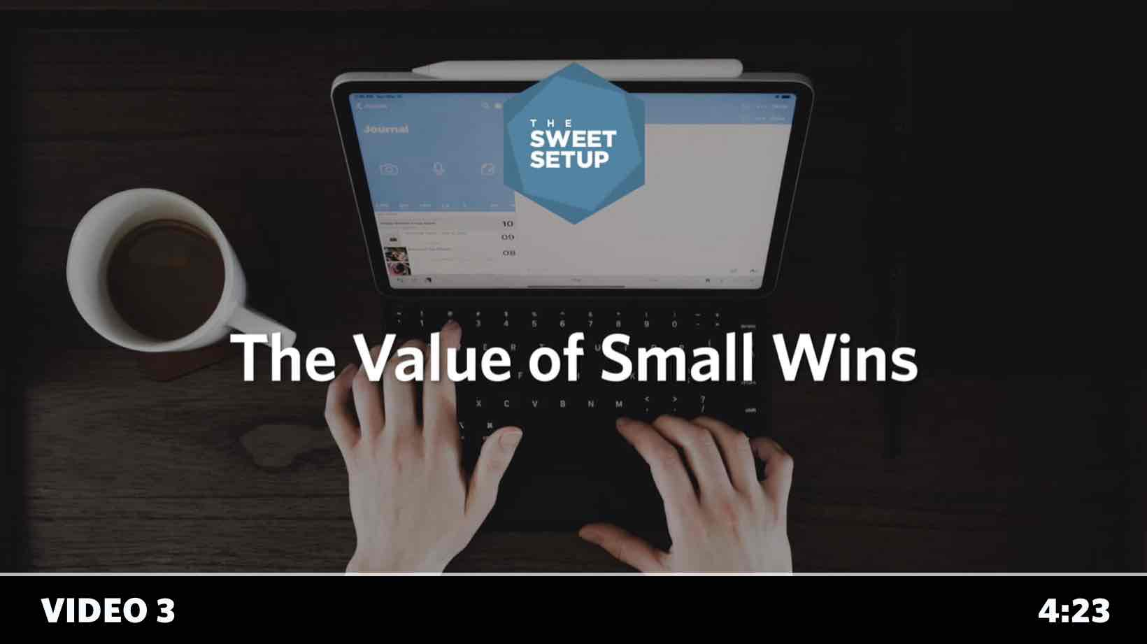 Simple Habits Course - video 3