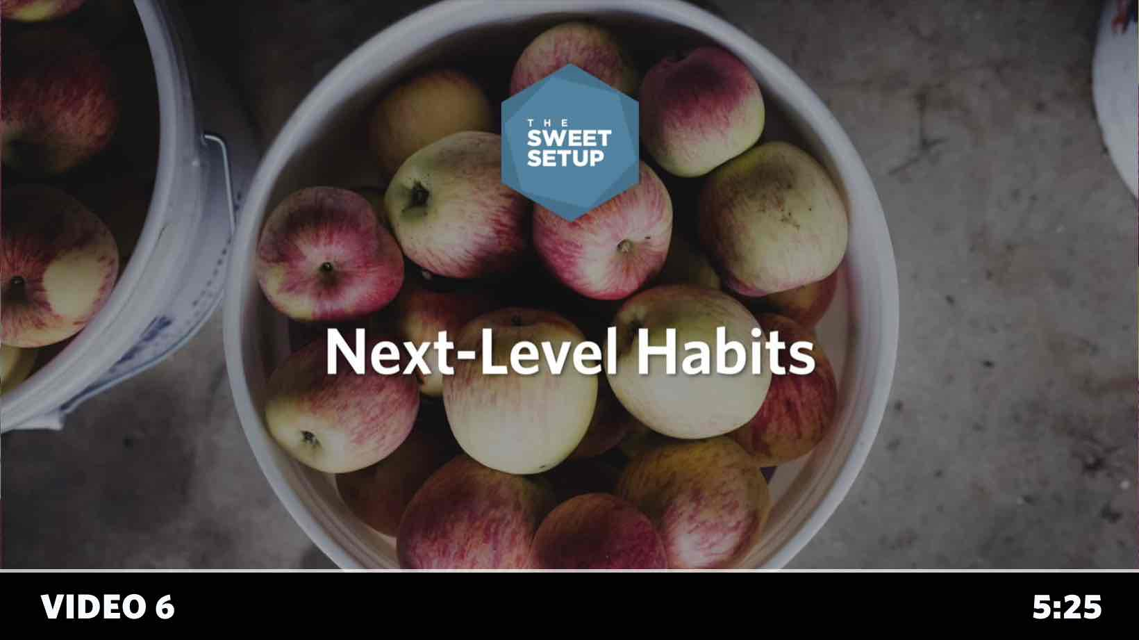 Simple Habits Course - video 6