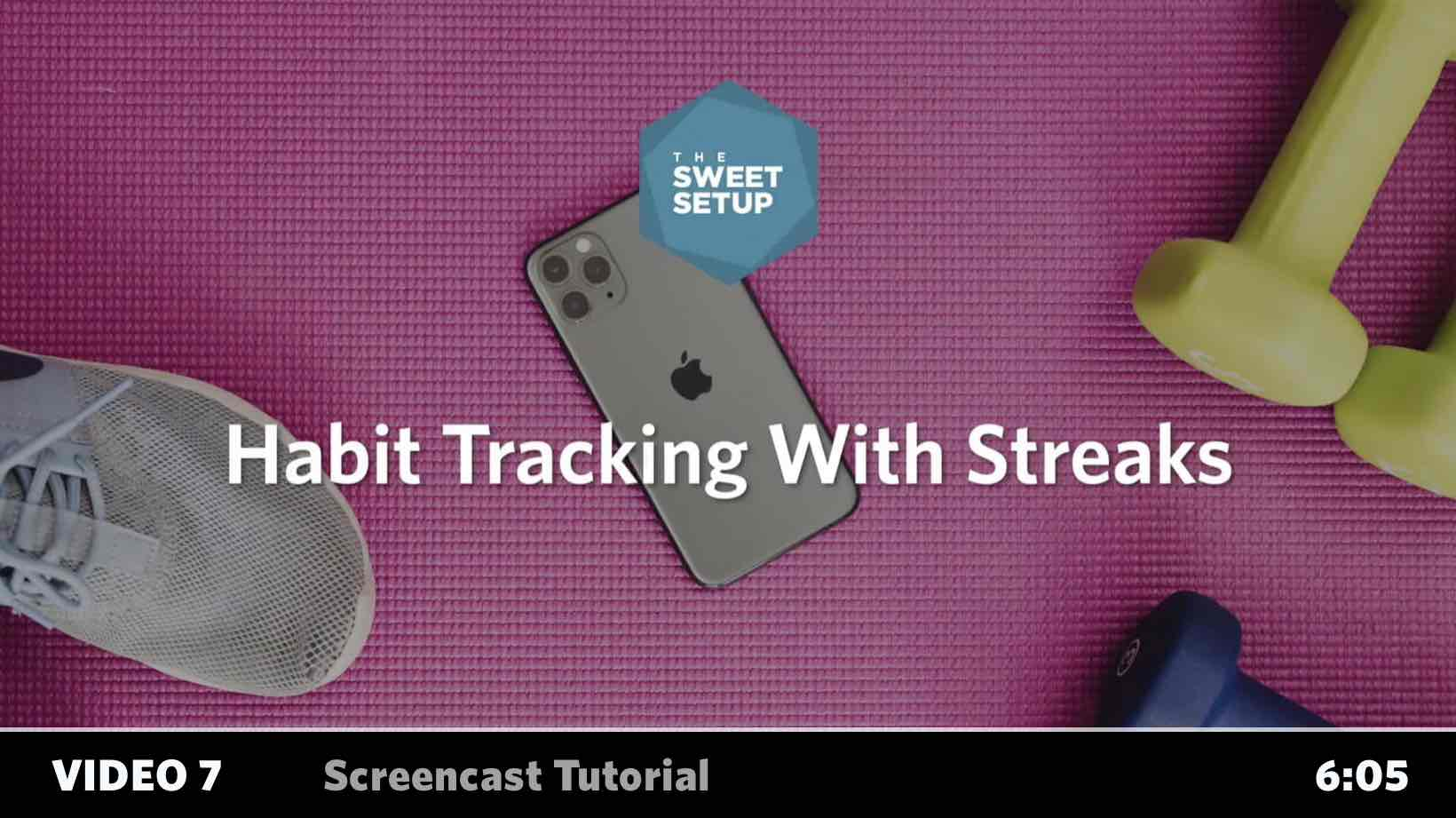 Simple Habits Course - video 7