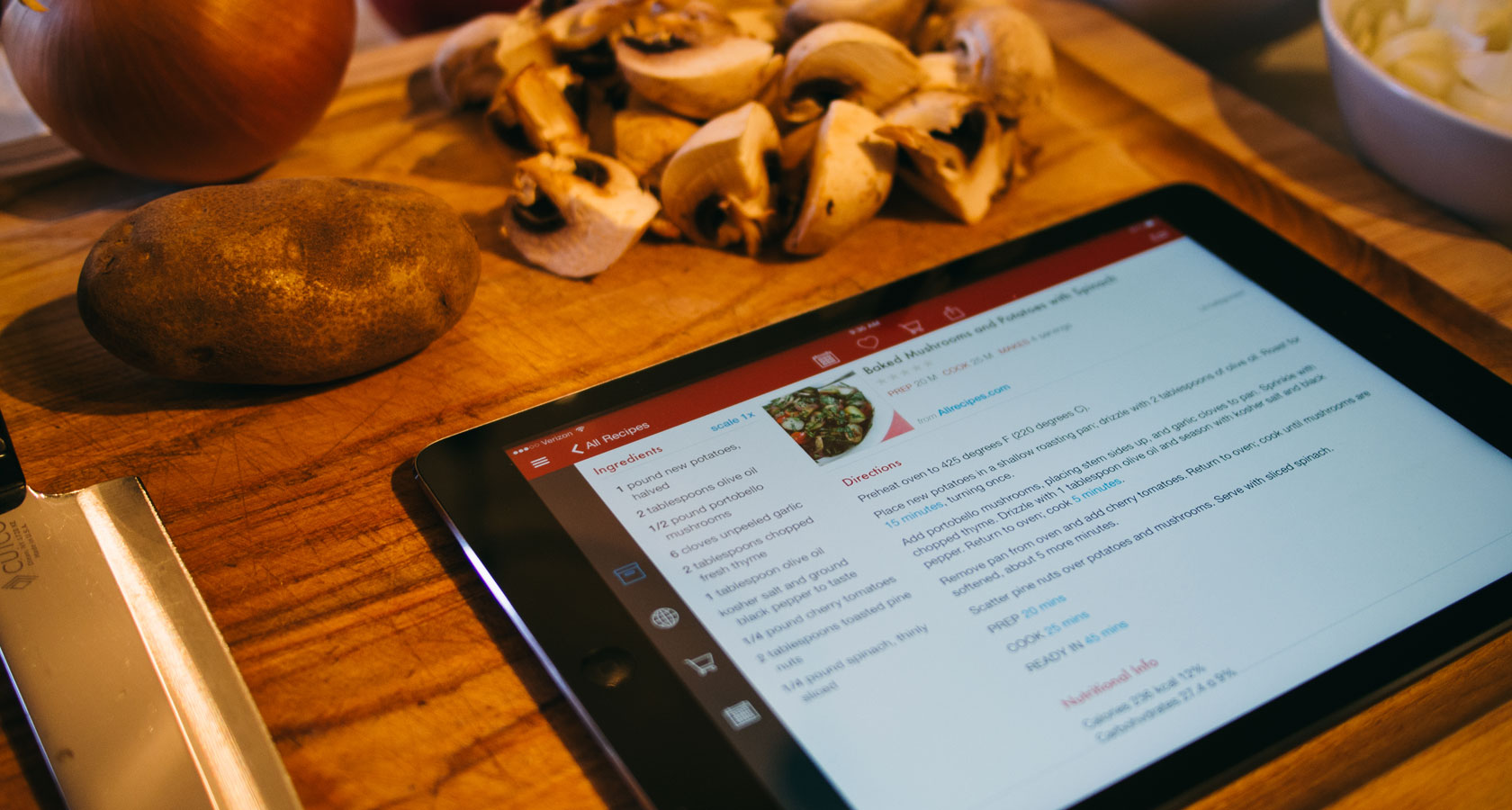 The best recipe manager for iphone ipad and mac the sweet setup paprika forumfinder Images