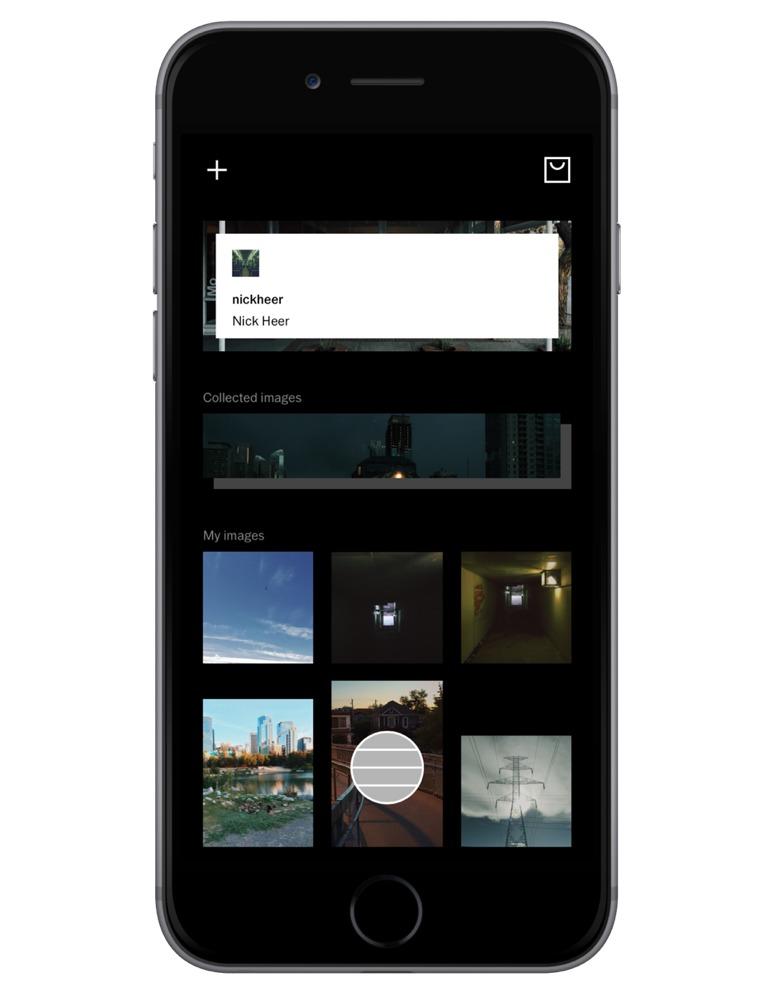 VSCO's new UI