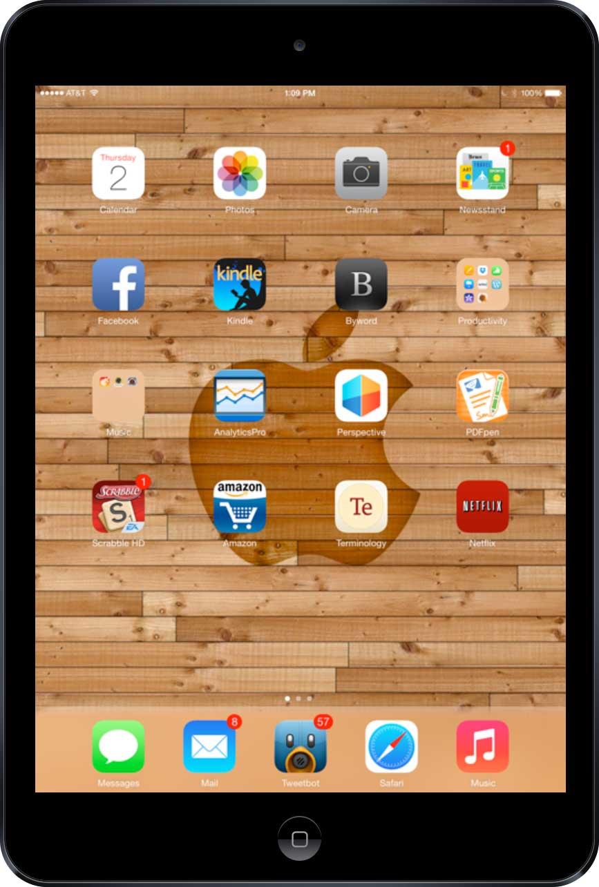 Ben Bajarin's iPad