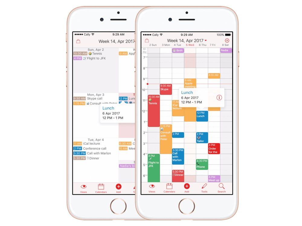 Weekly Calendar App : The best calendar app for iphone sweet setup