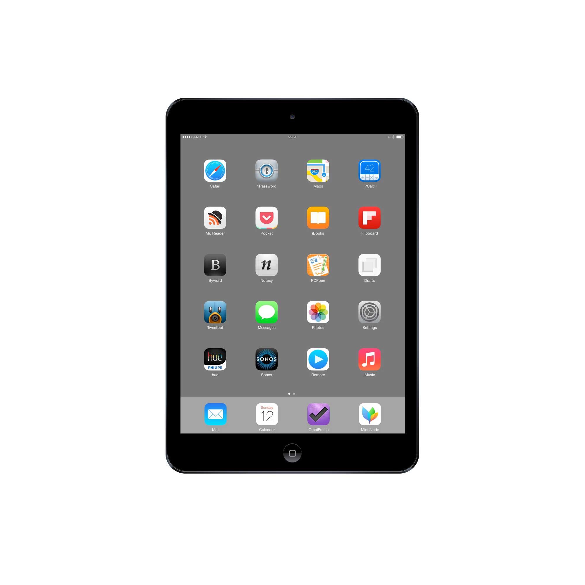 David Sparks' iPad Air