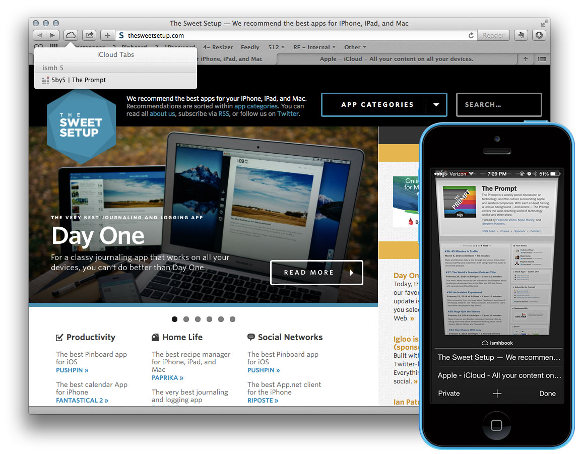 Quick tip: Get the most out of iCloud tabs – The Sweet Setup