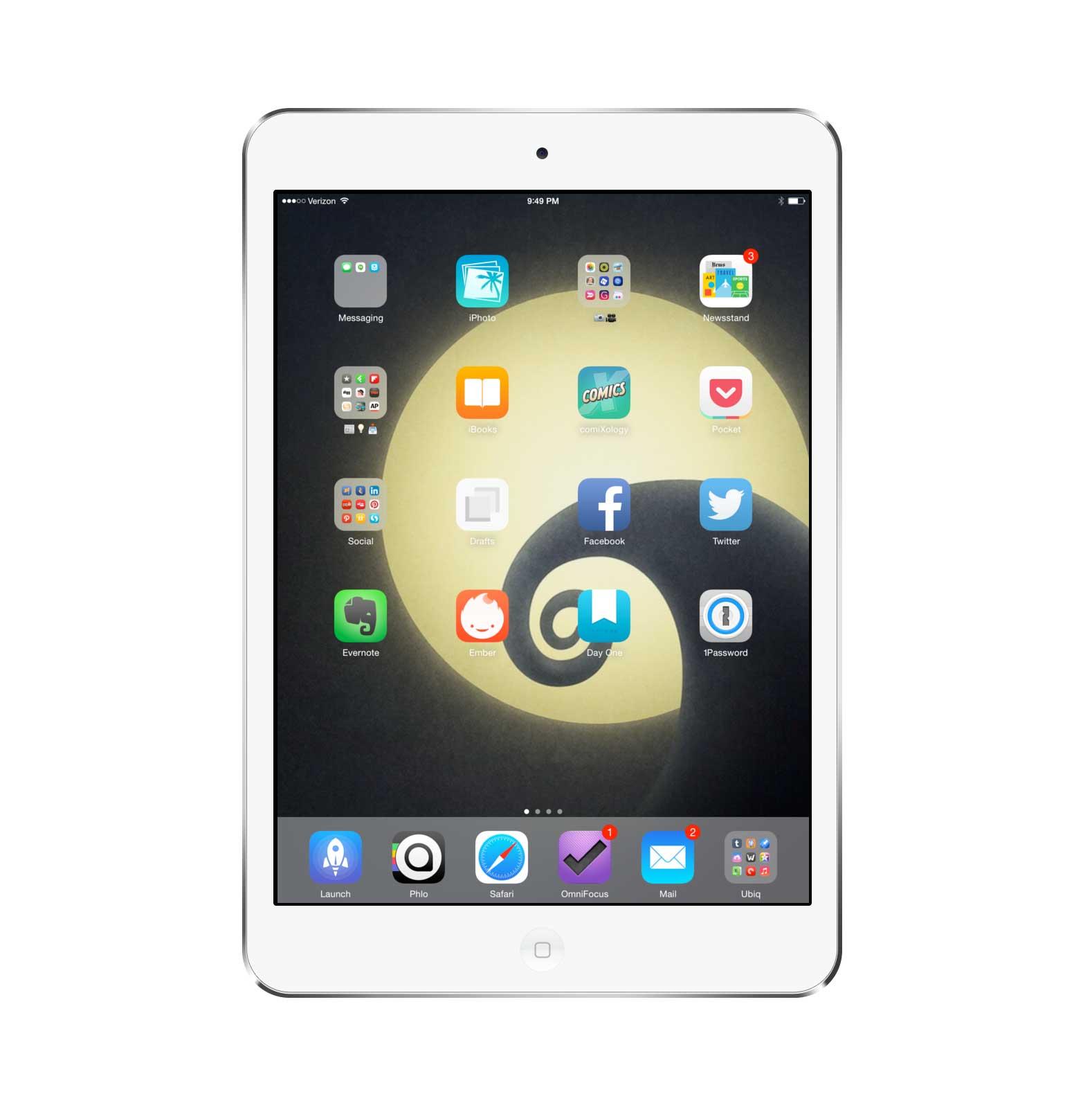 David Chartier's iPad