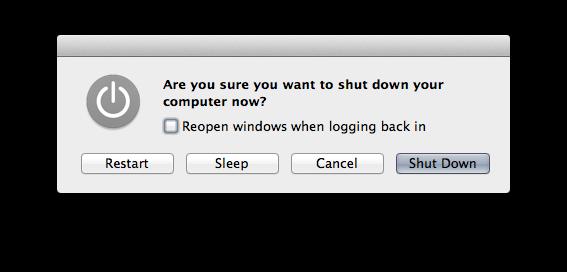 OS X power