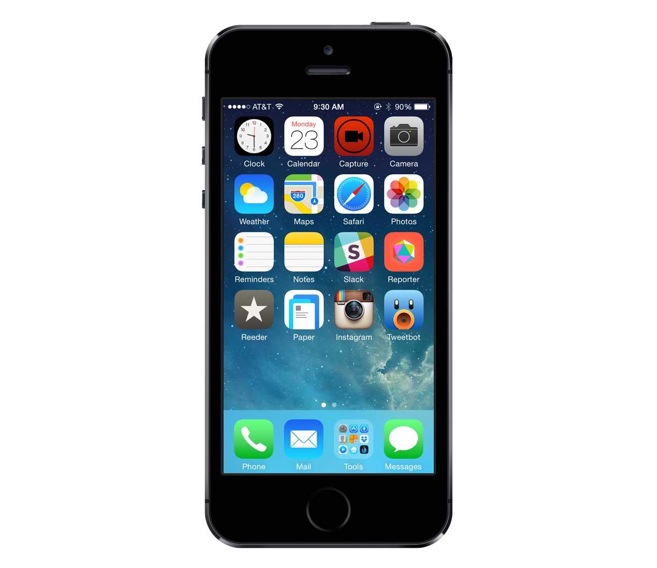 Chuck Skoda's iPhone