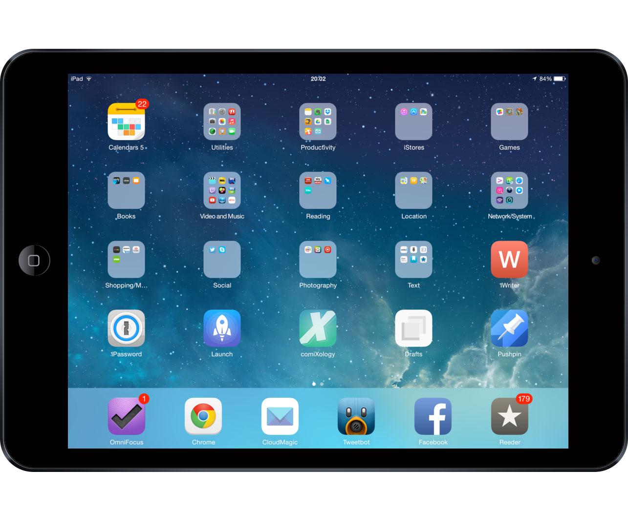 Oliver's iPad setup