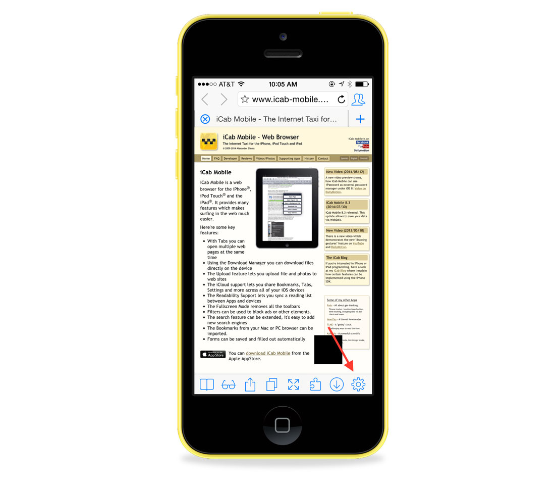 quick tip use icab mobile browser to upload files in ios the