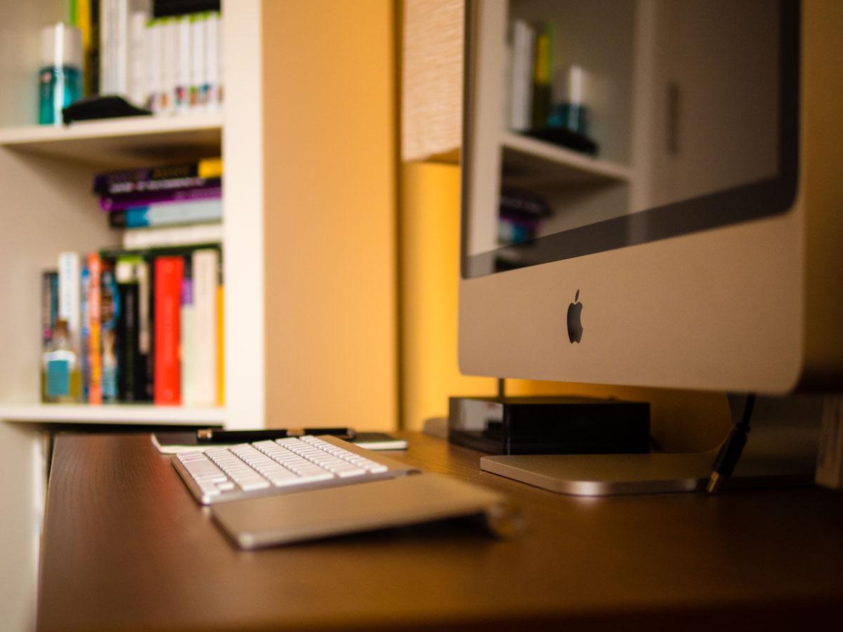 Álvaro Serrano's iMac