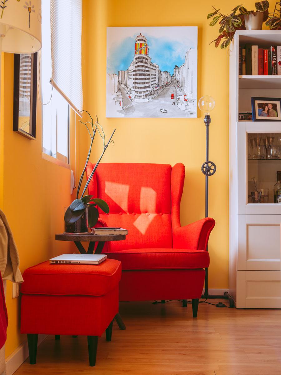 Lvaro serrano 39 s sweet setup the sweet setup - Comfortable chairs small spaces property ...