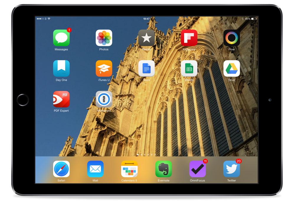 Fraser Speirs' iPad setup