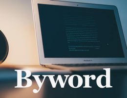 Write something great today. Try Byword.