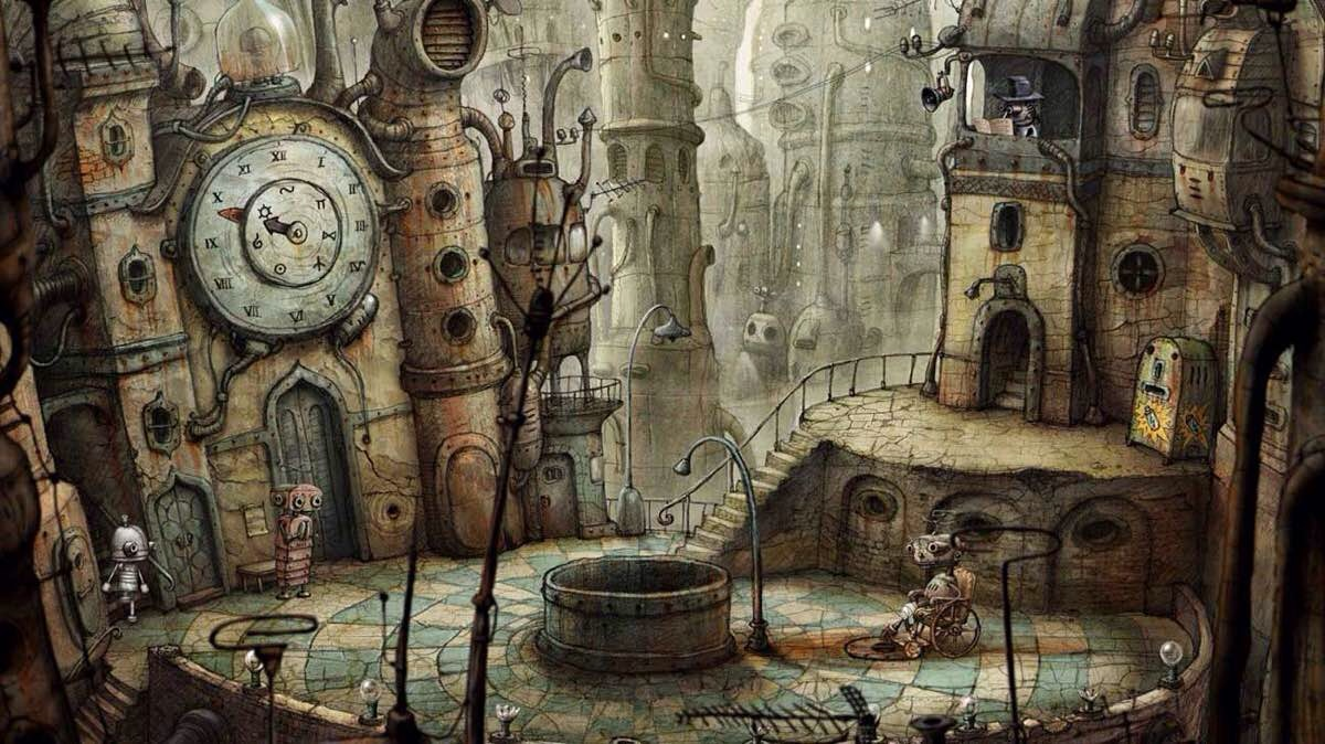 TSS Favorite Games — Machinarium