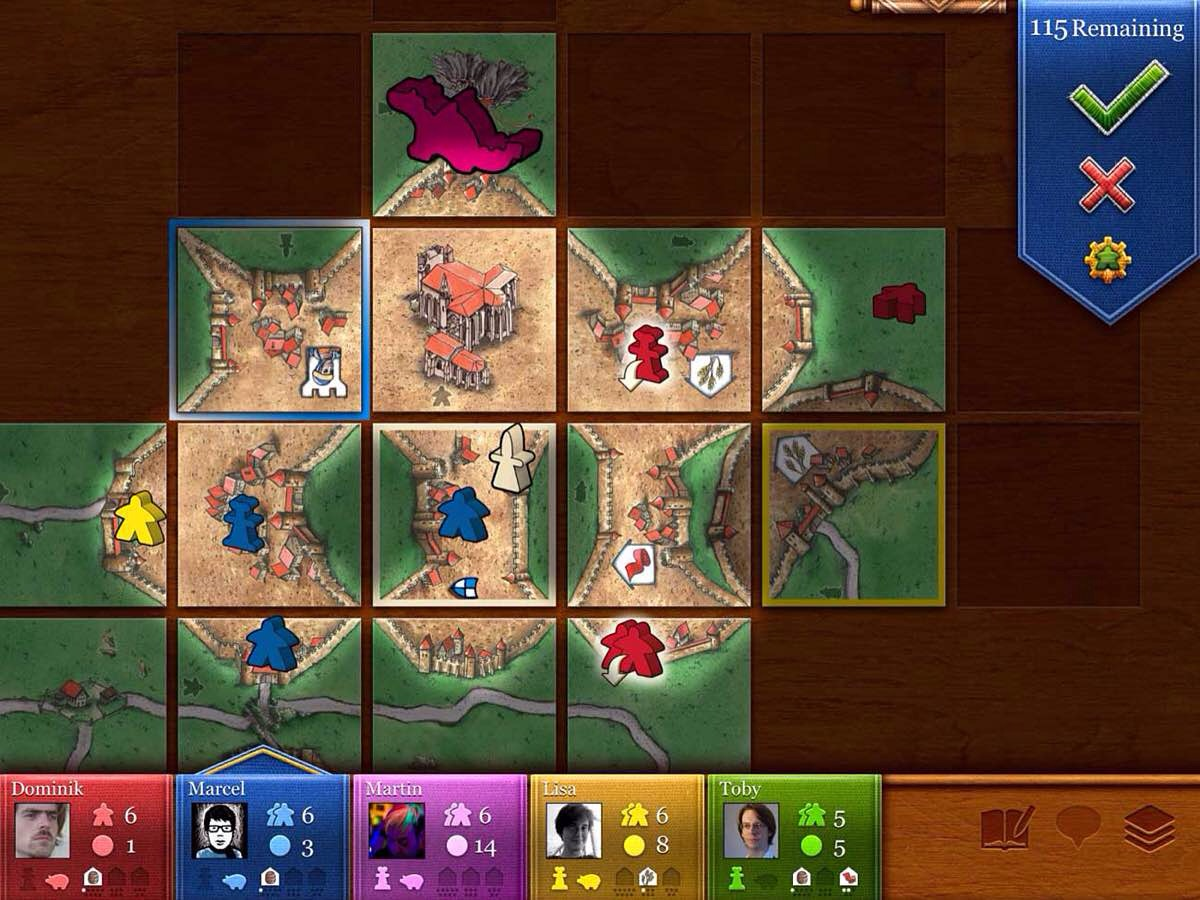 TSS Favorite Games — Carcassonne