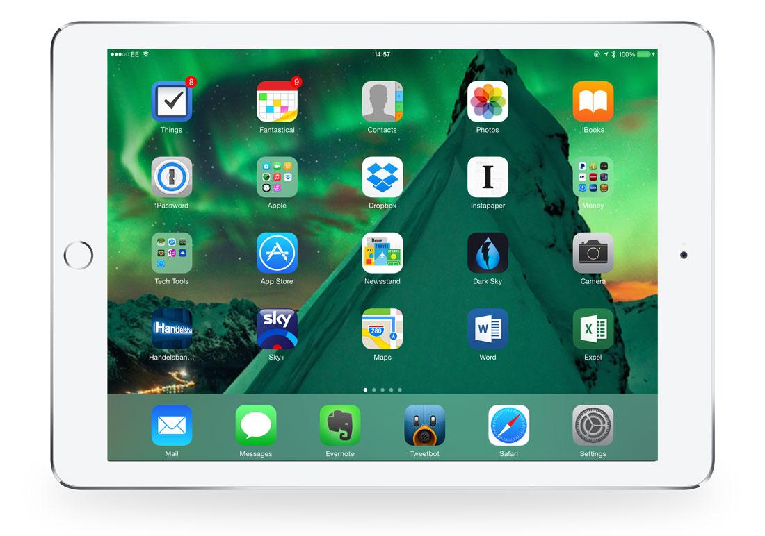 Jonathan's iPad Air