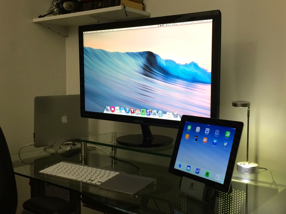Dr. Terry Portis' home setup