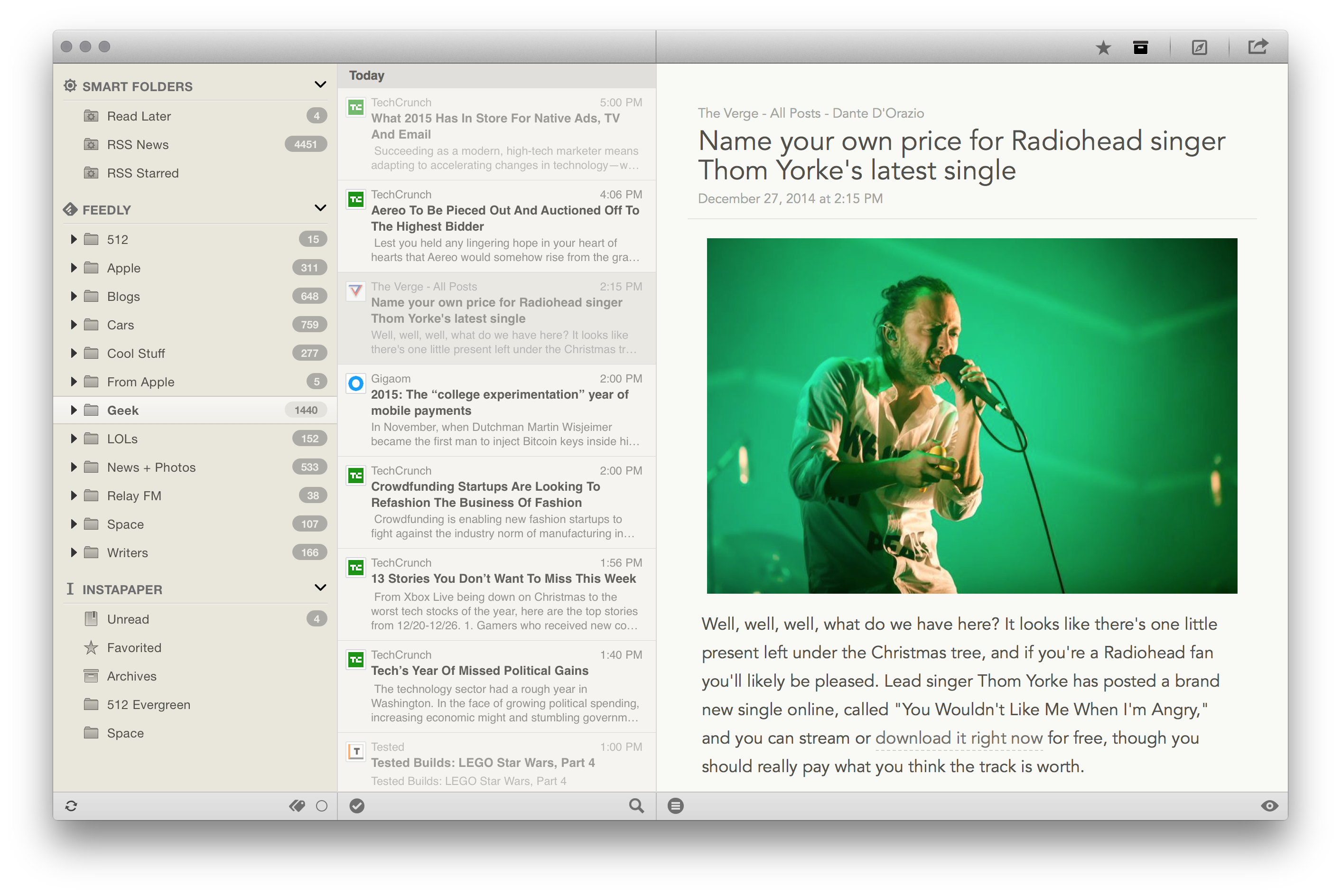 ReadKit pokes fun of Reeder
