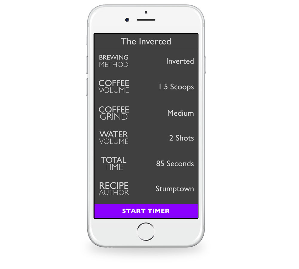 AeroPress Timer for iPhone