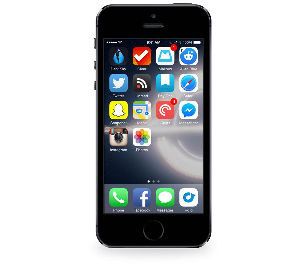 Brian Hamilton's iPhone 5s