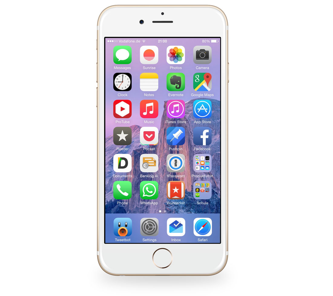 iphone 6 apps daniel w 252 rthele s iphone setup the sweet setup 11286