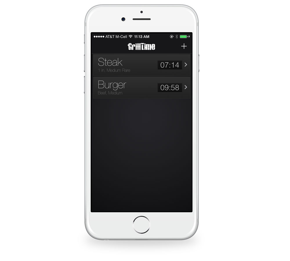 GrillTime timer for iPhone