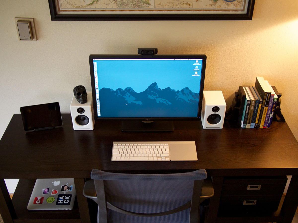 Marc charbonneau 39 s mac setup the sweet setup for Best home office computer 2015