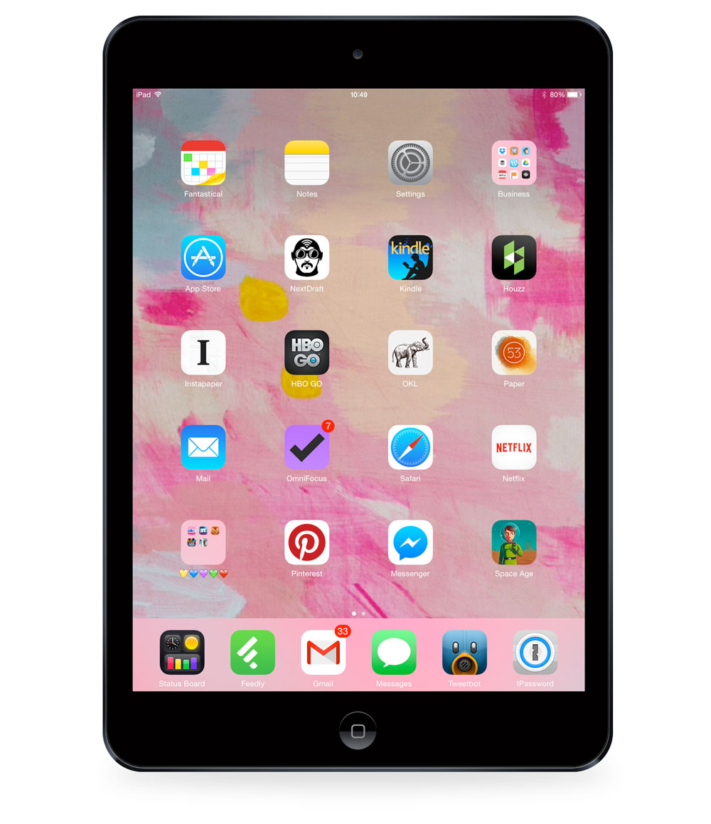 Virginia Roberts' iPad mini