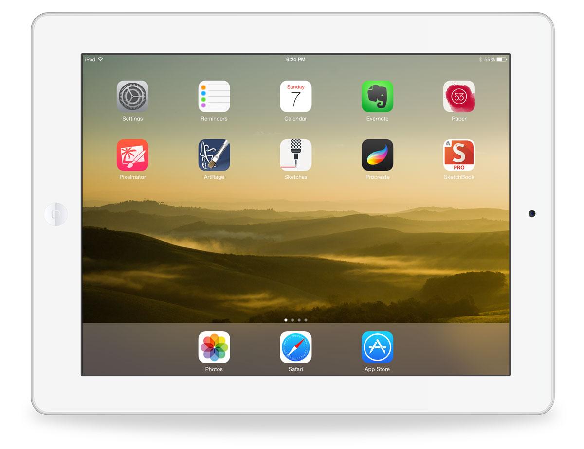 LuCiana's iPad