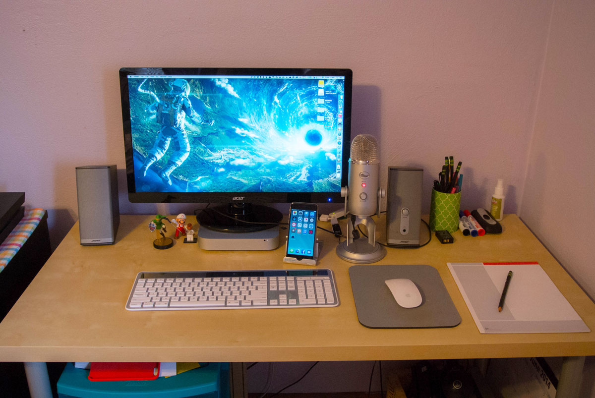 Matt Birchler S Mac And Iphone Setup The Sweet Setup