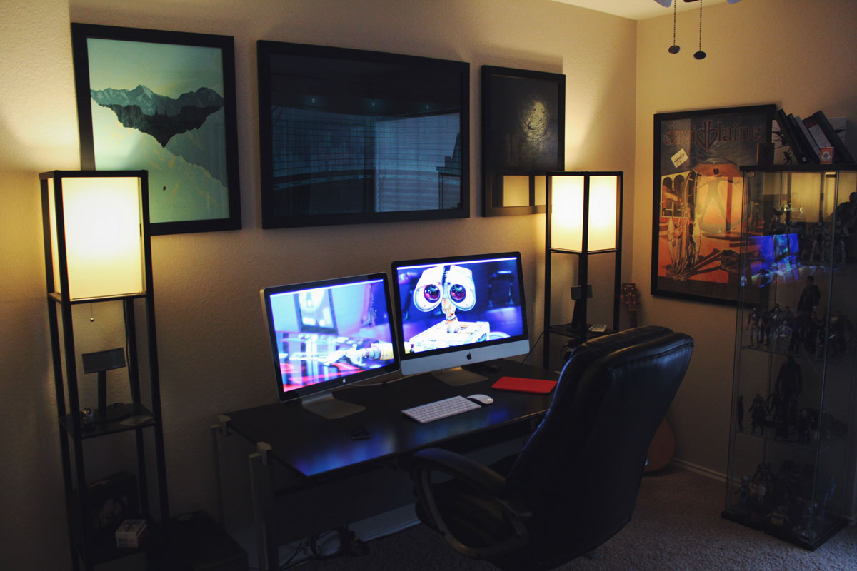 Matt Hamilton's desk