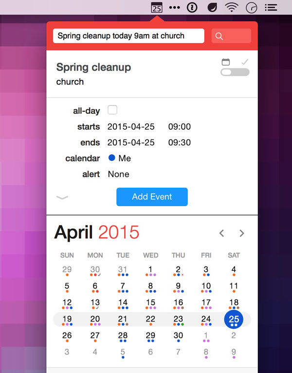 Calendar App : The best calendar app for mac sweet setup