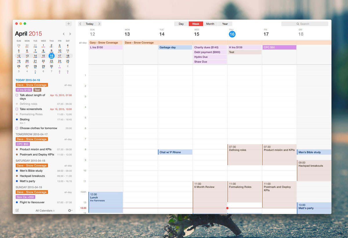 Calendar Apple : The best calendar app for mac sweet setup