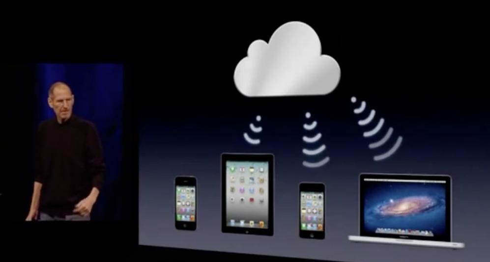 Steve Jobs iCloud slide