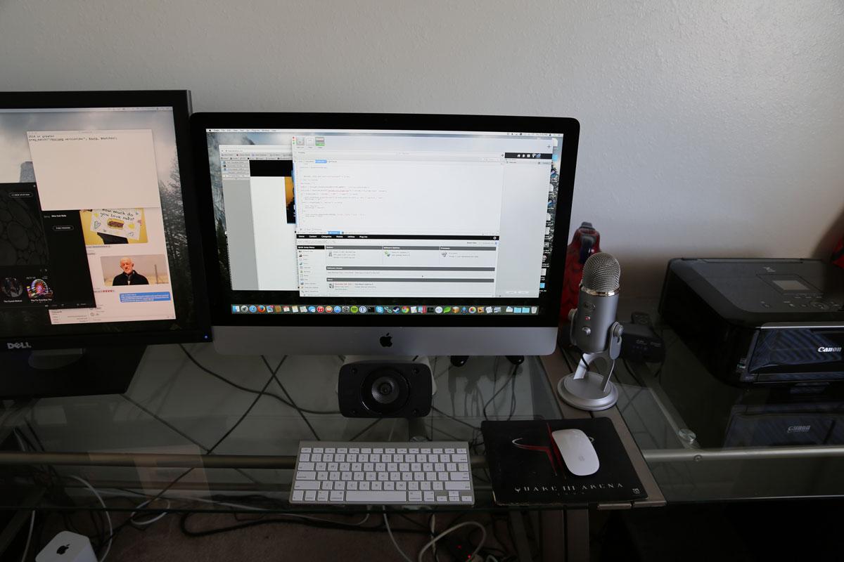 Mark El Wakil's iMac