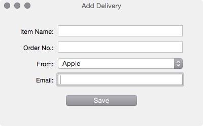 Deliveries Apple order screen 2