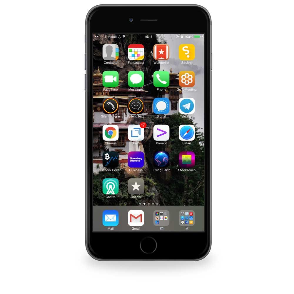 BizDevCon's iPhone