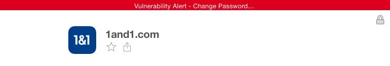 1Password alert for Heartbleed vulnerable logins