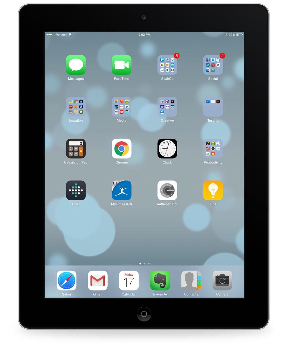 Dave Seah's iPad