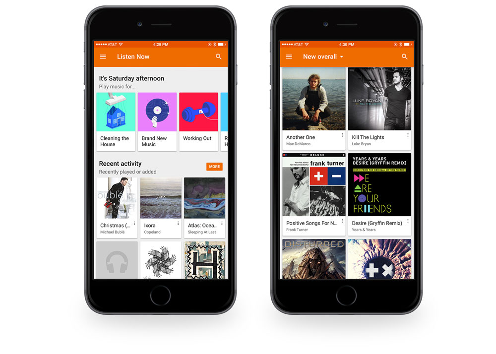 Google Music screenshots