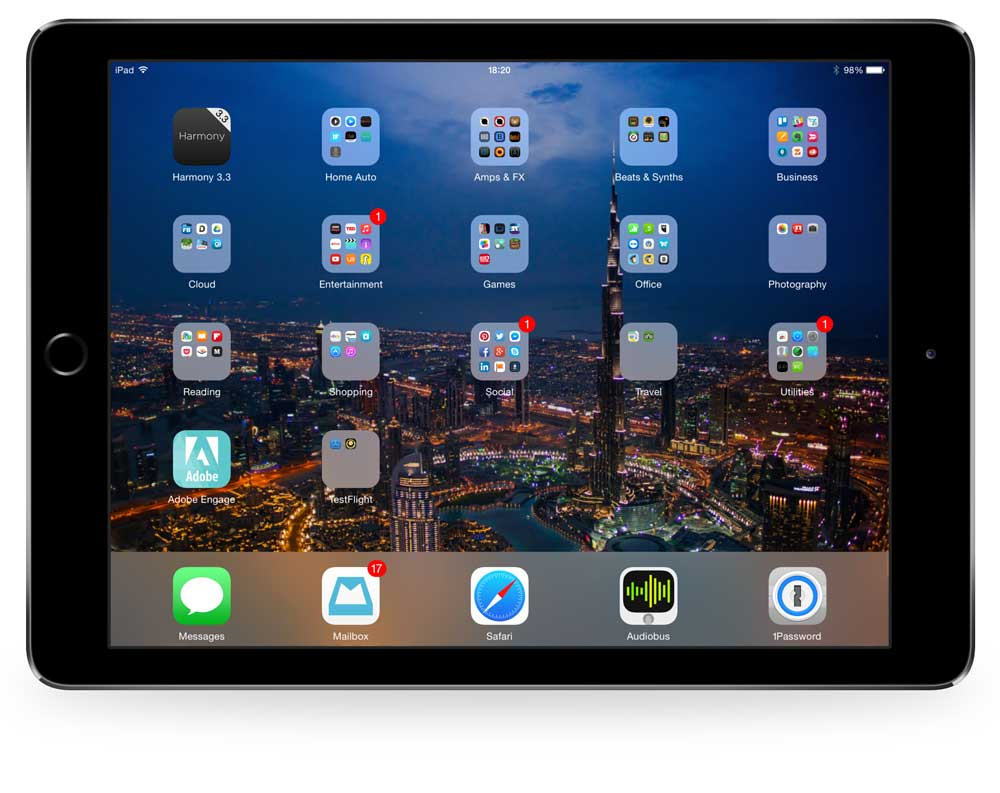 Steven Taylor's iPad