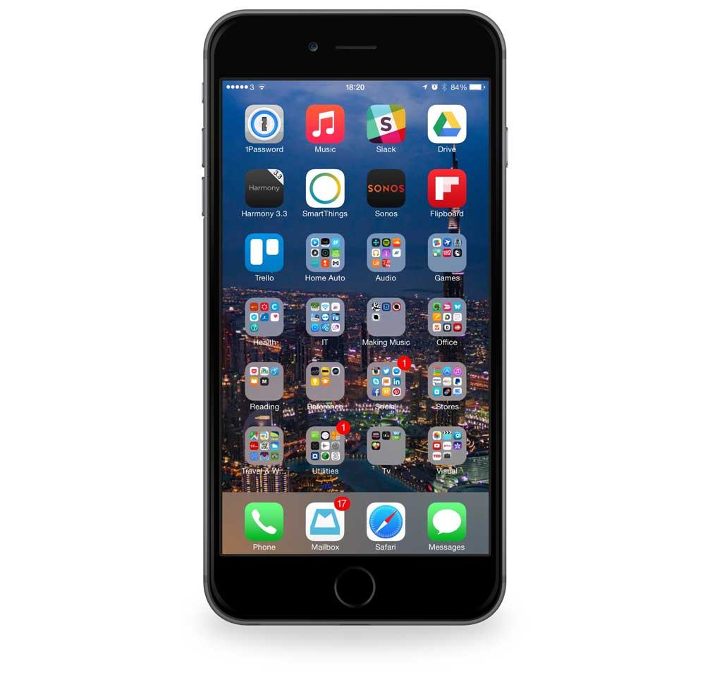Steven Taylor's iPhone 6 Plus