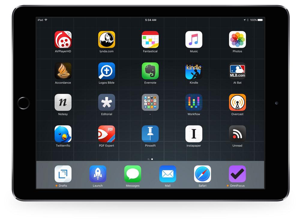 Brian's iPad Air 2