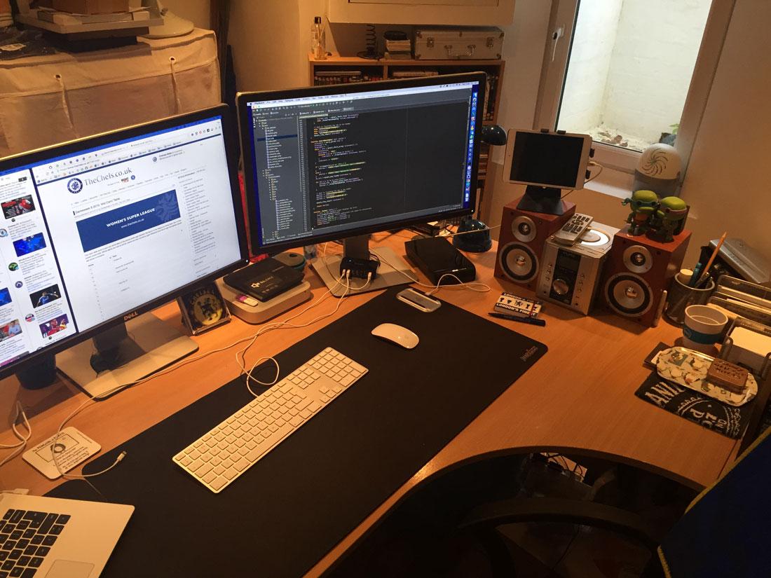 ChelseaStat's desk