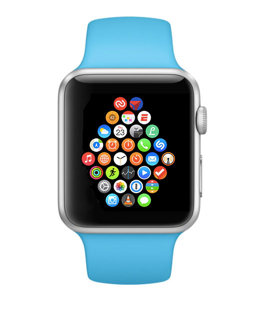 Richard Diaz' Apple Watch