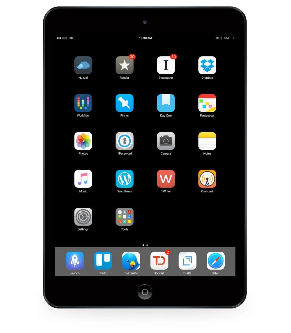 Aditya Daniel's iPad