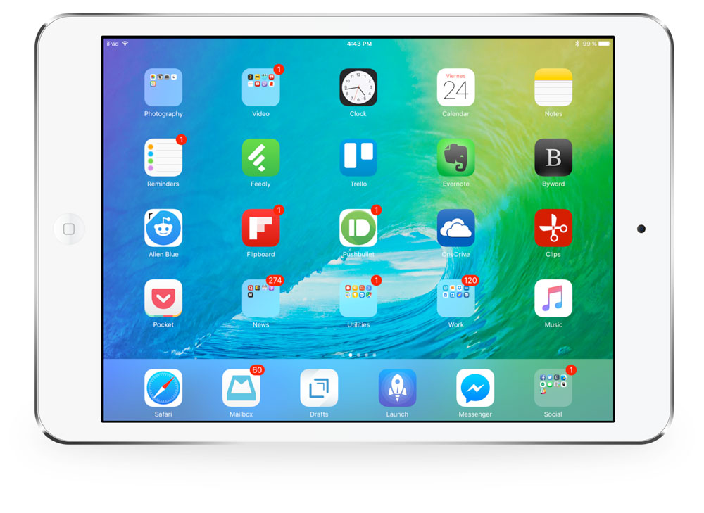 Arturo Goga's iPad