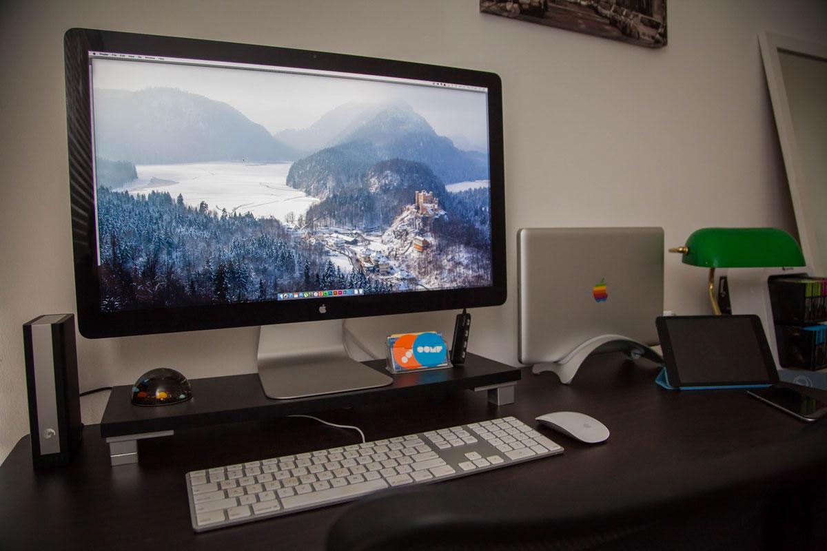 Zach Dyson's desk